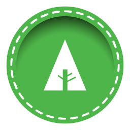 256x256px size png icon of forrst
