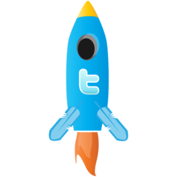 256x256px size png icon of rocket