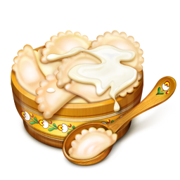 256x256px size png icon of Bowl Full