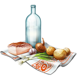 256x256px size png icon of Food