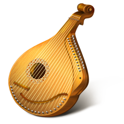 256x256px size png icon of Mandolin