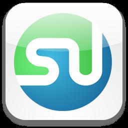 256x256px size png icon of StumbleUpon