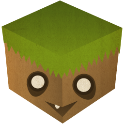 256x256px size png icon of minecraft