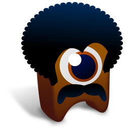 256x256px size png icon of BlackPower creature