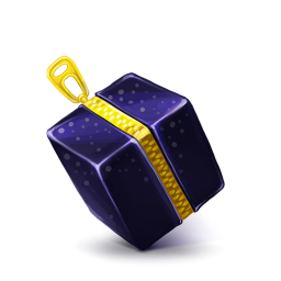 256x256px size png icon of Box 12 Zip