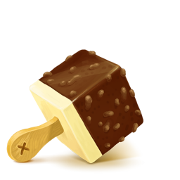 256x256px size png icon of Box 20 Ice Cream Chocolate