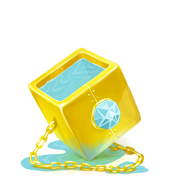 256x256px size png icon of Box 21 Water Diamond