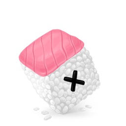 256x256px size png icon of Box 25 Sushi