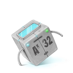 256x256px size png icon of Box 28 Robot