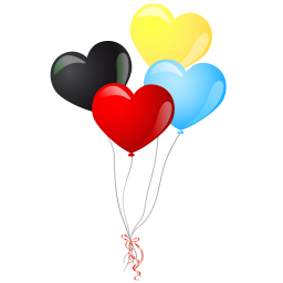 Heart Balloons Vector Icons Free Download In Svg Png Format
