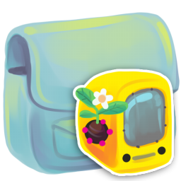 256x256px size png icon of Folder Computer