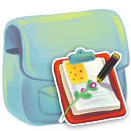 256x256px size png icon of Folder Document