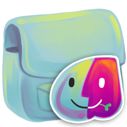 256x256px size png icon of Folder Finder