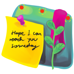 256x256px size png icon of Sticky Note