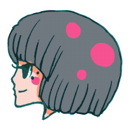 256x256px size png icon of User Girl