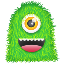 256x256px size png icon of Green Monster