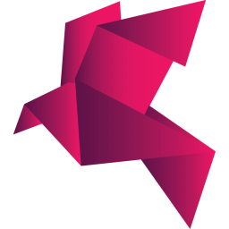 256x256px size png icon of bird red 2