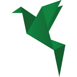 256x256px size png icon of birds green 2