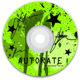 256x256px size png icon of Autorate Green