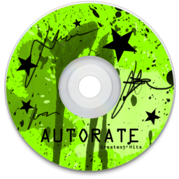 256x256px size png icon of CD Green