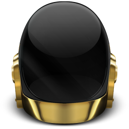 256x256px size png icon of Daft Punk Guyman Off
