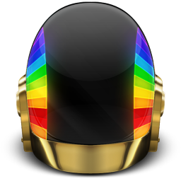 256x256px size png icon of Daft Punk Guyman On