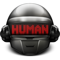 256x256px size png icon of Daft Punk Thomas Human