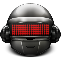 256x256px size png icon of Daft Punk Thomas On