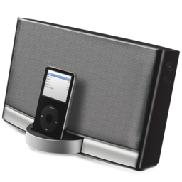 256x256px size png icon of Sound Dock