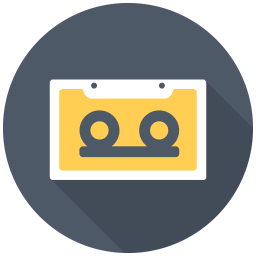256x256px size png icon of Cassette