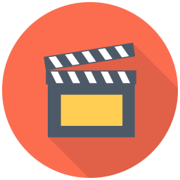 256x256px size png icon of Clapper