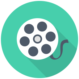 256x256px size png icon of Film