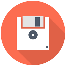 256x256px size png icon of Floppy