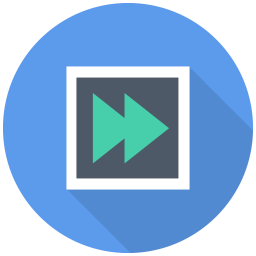 256x256px size png icon of Forward