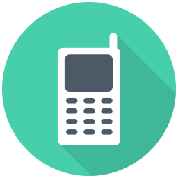 256x256px size png icon of Mobile