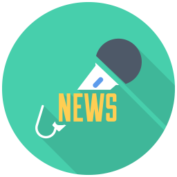 256x256px size png icon of News Mic iPhone