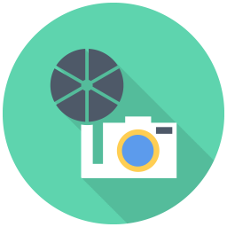 256x256px size png icon of Old Camera
