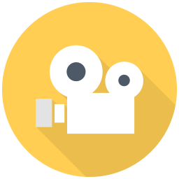 256x256px size png icon of Old Video Cam
