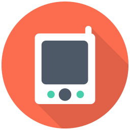 256x256px size png icon of Pager