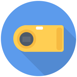 256x256px size png icon of Point Shoot Camera