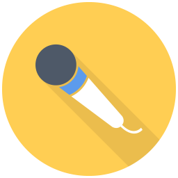 256x256px size png icon of Simple Mic