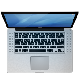 256x256px size png icon of Apple MacBook Pro