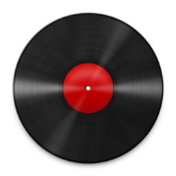 256x256px size png icon of Vinyl Red 512