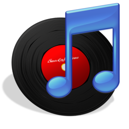 256x256px size png icon of iTunes Vinyl