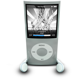 256x256px size png icon of iPodPhonesSilver
