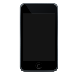 256x256px size png icon of iPod Touch off
