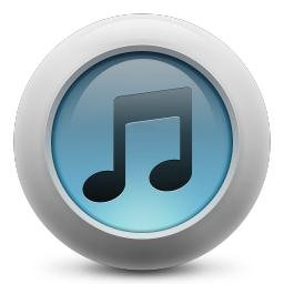 256x256px size png icon of iTunes simple