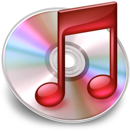 256x256px size png icon of iTunes red
