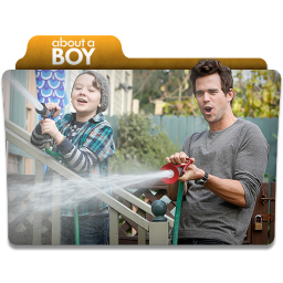 256x256px size png icon of About a Boy