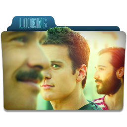 256x256px size png icon of Looking